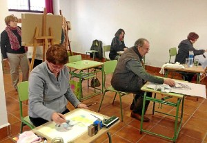 Escuela Pintura Zalamea la Real