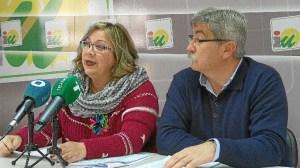 Monica Rossi y Juan Manuel Arazola, concejales IU Huelva