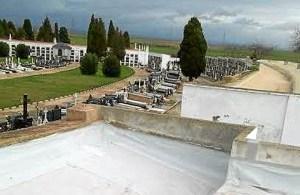 Reparaciones en Cementerio
