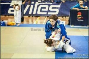 Alba Rojas, judoca onubense.