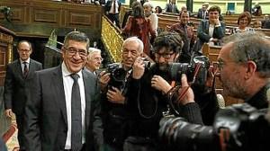 El nuevo presidente del Congreso, el socialista Patxi López.