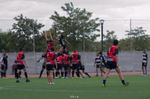 Huelva Unión Rugby ante San José.