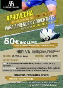 Cartel del Clinic de jugadores de campo Soloporteros.
