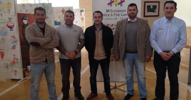 Acuerdo de colaboración entre Huelva 2016 y la Federación Andaluza de taekwondo.