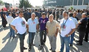Movilizacion de apoyo a Los 8 de aribus