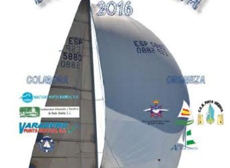 Cartel de la regata de invierno 2016.