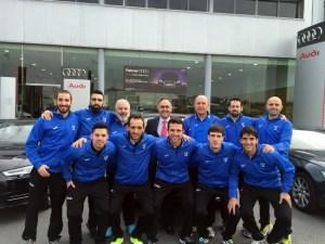 Club de Sordos de Huelva en las instalaciones de Huelva Wagen.