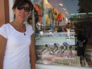 Rocío Galán, presidenta del Club Correcaminos de  La Palma del Condado.