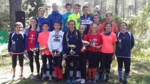 Trofeo de orientación en la sierra de Huelva.