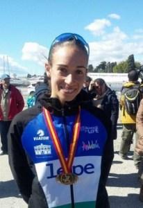 Laura García Caro, atleta lepera.