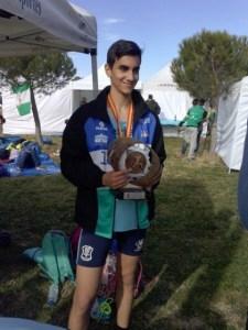 Alberto Muriel, atleta lepero.