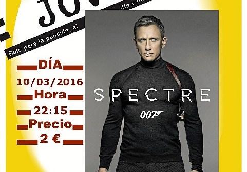 Cine Joven Spectre 007