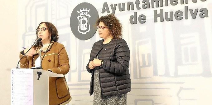 Foto Alicia Narciso y Eva Salazar