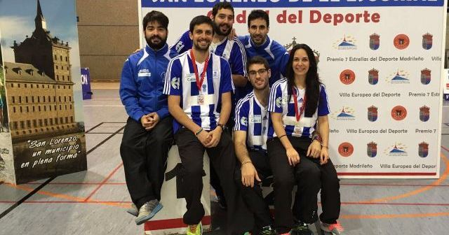 Jugadores del Recreativo IES La Orden en Madrid.