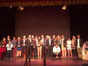 Gala del Deporte de la Asociación Onubense de la Prensa Deportiva.