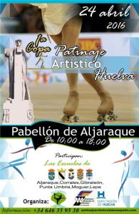 Torneo de patinaje en Aljaraque.