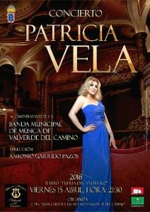 CARTEL CONCIERTO PATRICIA VELA