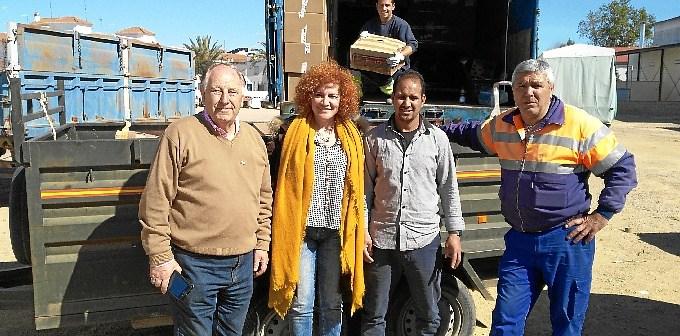 Entrega Alimentos Pueblo Saharaui