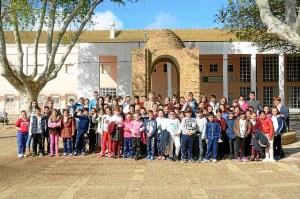Escolares visita Palos