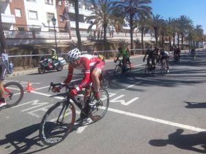 Circuito ciclista en Palos de La Frontera.