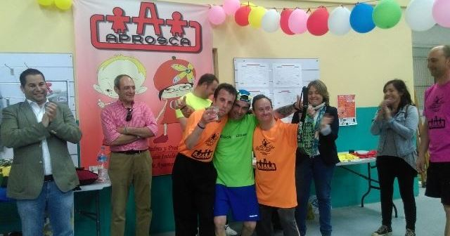 Torneo benéfico de pádel en Ayamonte.