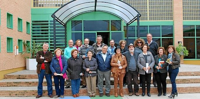 Poetas Huelva por la Paz visita centro penitenciario (3)