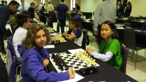 Torneo de ajedrez de base.
