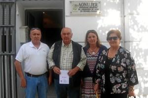 Miembros de la Junta Directiva de Aonujer