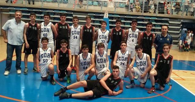 Equipo de cantera del Ciudad de Huelva.