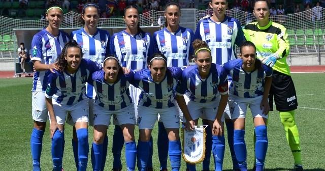 Imagen de archivo del Cajasol Sporting-Atlético de Madrid de Copa de la Reina.