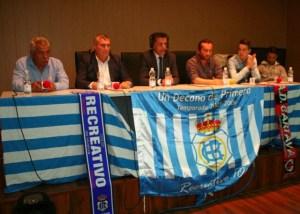 Ayuntamiento de Cartaya con la campaña de salvación del Recreativo de Huelva.