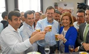 160623 Moreno Rajoy Santa Olalla