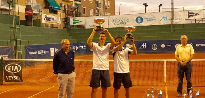 Ganadores de la final de dobles de la Copa del rey de tenis.