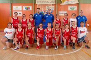 Equipo mini del CB La Palma 95.