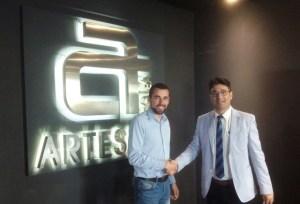 Convenio entre Artesiete y la Federación de Peñas del Recreativo de Huelva.