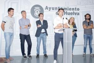 Presentación del partido benéfico famosos a favor del Recreativo de Huelva.