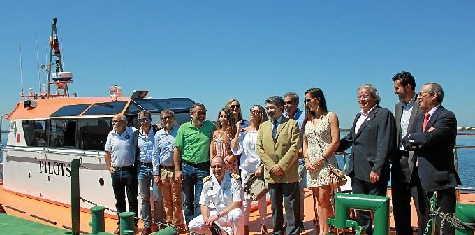 Presentacion embarcacion Onuba Pilots Puerto de Huelva