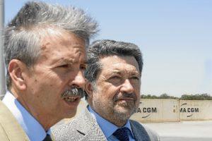 Presidente del Puerto de Huelva Consejero de Economia de ExtremaduraI
