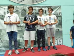 Campeonato Interescolar de ajedrez.