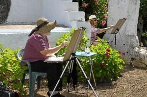 pintura aire libre en Ayamonte (3)