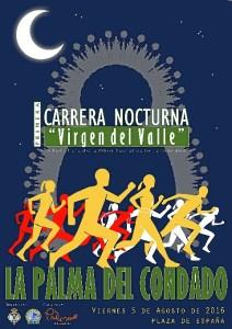 Cartel I Carrera Nocturna Virgen del Valle (1)