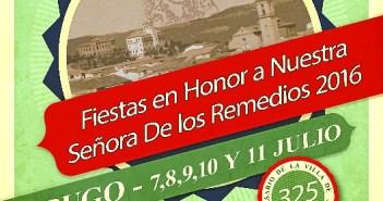 Cartel fiestas Virgen de los Remedios Jabugo