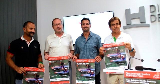 Presentación de la Discovered Huelva Sup Festival.