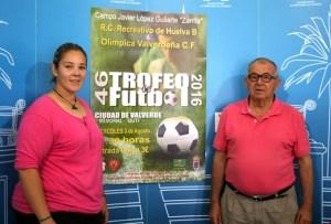 Presentación del Trofeo de fútbol de Valverde del Camino.