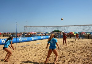 foto voley playa