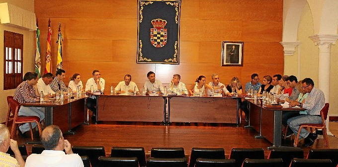 pleno municipal moguer