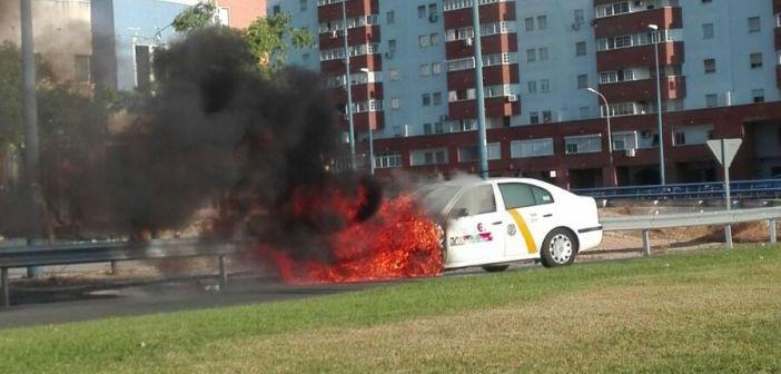 taxi ardiendo