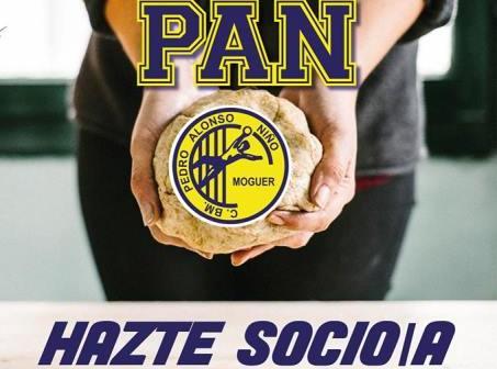 Cartel de la campaña de socios del PAN Moguer.