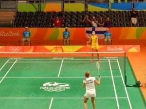 Carolina Marín en las Olimpiadas de Río de Janeiro.