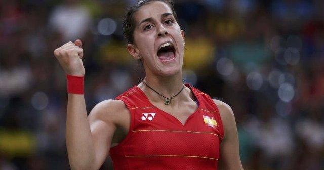 Carolina Marín, actual campeona del mundo de bádminton.